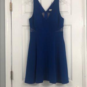 Blue semi-formal dress: size 10